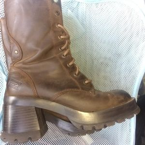 Candies leather boots